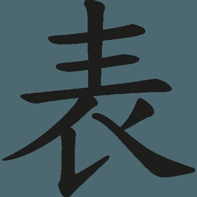 Pegatina Letras Chinas En Vinilo Autoadhesivo Para Tuning De Coches
