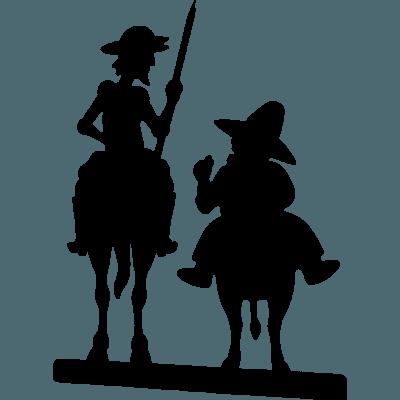 Resultado de imagen de don quijote y sancho
