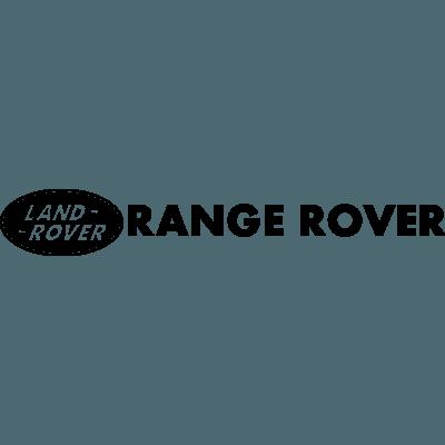 pegatina logo range rover en vinilo adhesivo para coche