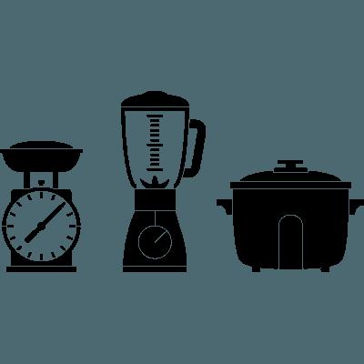 Pegatina decorativa en vinilo adhesivo para cocina o nevera - Pegatinas para cocina ...