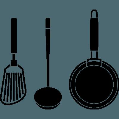 Pegatina decorativa en vinilo adhesivo para cocina o nevera - Pegatinas para cocinas ...