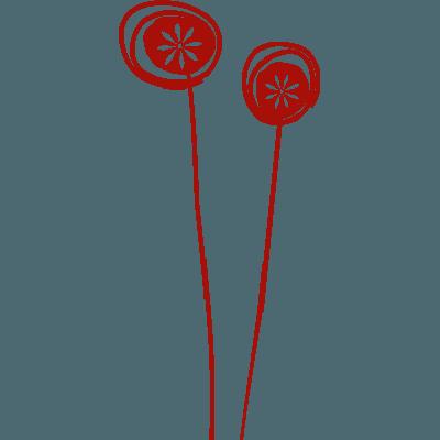 Vinilos Con Corazones Y Flores Para Coches Y Motos