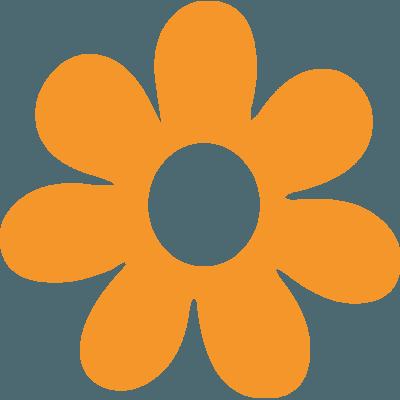 Pegatina Flor Para Coche